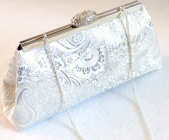 Winter Accessories, Gifts For Her, Gift Ideas, Bridesmaid Gift Clutch Silver And Royal Blue Bridal Clutch Wedding Clutch Mother Of The Bride