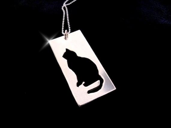 Cat Jewellery, Cat Necklace, Cat Pendant, Animal Jewellery, Feline Jewellery, Gift for Cat Lover, Cat Lover, Animal Necklace, Animal Pendant