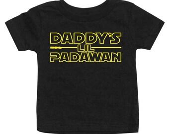 Daddy's Lil Padawan T-Shirt