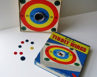 Tiddly Winks Game Etsy