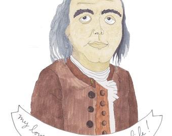 Ben Franklin, Lightning & Love