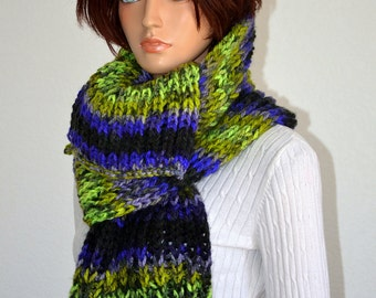 Canadian Winters Scarf/ Knitted winter Scarf/ Chunky Winter Scarf/ High Fashion Scarf/ Gift for Her/ Christmas Gift/ Knitted Scarf/ Gifts