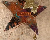 Magic Wand  Spirit Wand Wonder Inspired Assemblage Collage Original Art Number 10 Wish Upon A Star Wishful Thinking Wonder Why You Wander