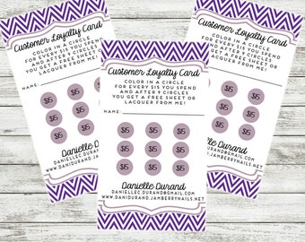 printable rewards business cards for jamberry pampered chef thirty one and other consultants. Black Bedroom Furniture Sets. Home Design Ideas