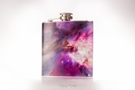 Orion Nebula - 6oz or 8oz Hip Flask