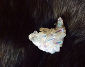 One (1) Angel aura Quartz 30-40 mm clusters