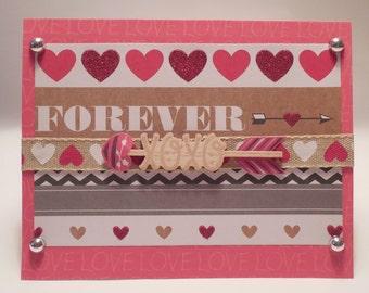 Forever in Love - Valentine's Day Card