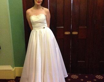 The Starlight full length wedding dress
