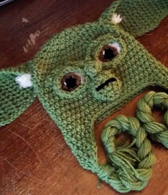 Free Crochet Pattern For Yoda Ears