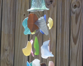 Sea Glass Wind Chime # 208