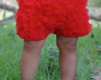 Chiffon Ruffled Booty Dance Shorts for Baby to Big Girls!!!