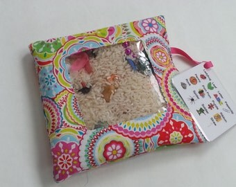 I Spy Bag - Pink Kaleidoscope Print