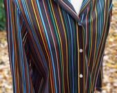 Vintage Long Sleeve Blous...