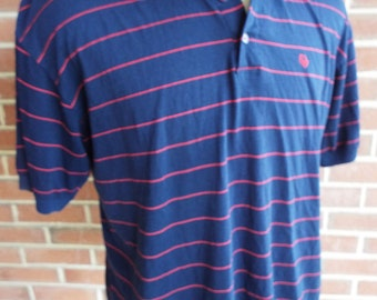 Vintage Short Sleeve Striped Polo Shirt by Christian Dior