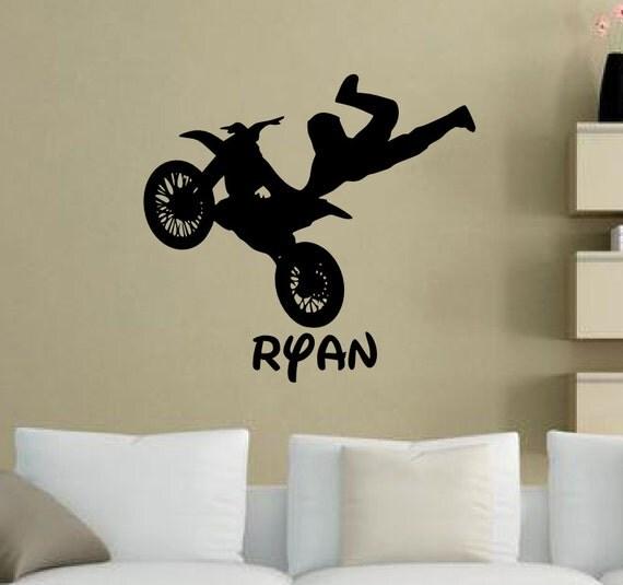 Dirt Bike Room Decor