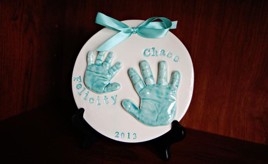 Brothers Amp Sisters Handprint Keepsake Twins By Memoriesinclay