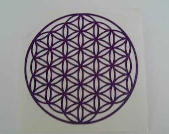 Flower of Life Vinyl Decal