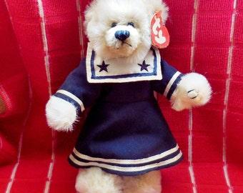 TY Bear in Sailor Dress