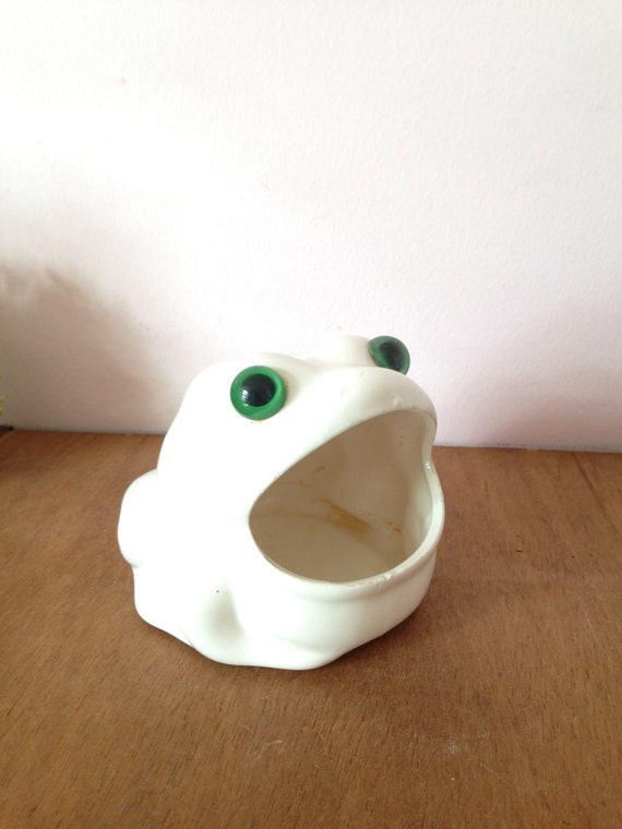Wide mouth frog sponge holder kitchen fun by annmariefamilytree - Frog sponge holder kitchen sink ...