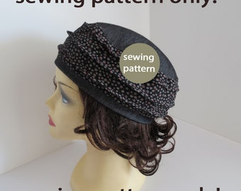 A trendy hat sewing pattern