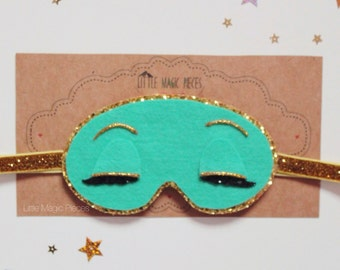 Breakfast at Tiffany's Holly Golightly Sleep Mask Headband Photo Prop