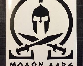 Molon Labe Vinyl Decal Sticker Come and Take FREE SHIPPING