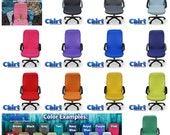 Solid Color Chirt (Chair Shirt) Custom Office Chair Cover (patent pending)