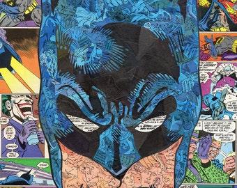 Batman Comic Collage A3 Print
