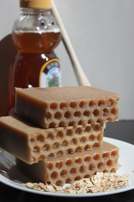 Honey Oatmeal Soap~homemade