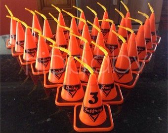 Cars/Construction Cone Cups/ cars favors/ cozy cone cups/ cone cups/ sippy cups/ boys party favors/ construction party favors/