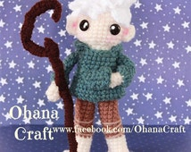 Rise of the guardians Jack Frost inspired crochet doll-Made To Order-FREE SHIPPING