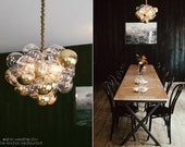 "The Large Cloud Bubble Chandelier (22"" diameter)"