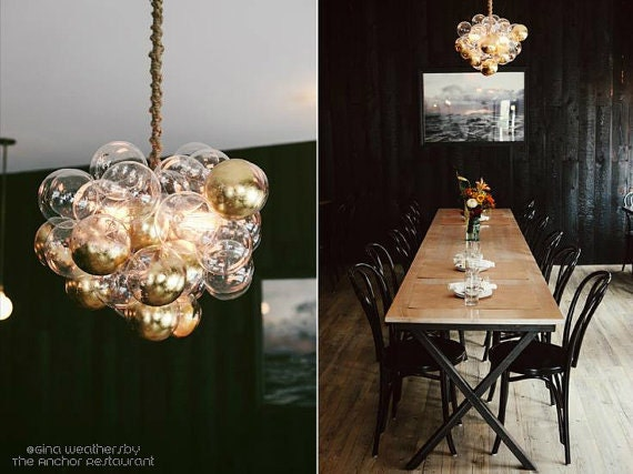 The Large Cloud Bubble Chandelier