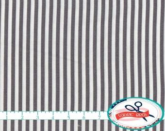 GRAY STRIPE Fabric by the Yard, Fat Quarter Dark GRAY Fabric Mini Stripe Quilting Fabric 100% Cotton Fabric Apparel Fabric Yardage w9-28