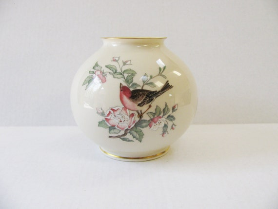 Lenox serenade globe vase round medium by whimsicaleverafter - Serenade ivry ...