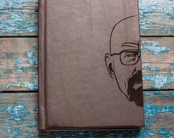 Breaking Bad Leather Journal   Heisenberg Journal  Handmade Leather Journal  Travel Journal Notebooks Diaries