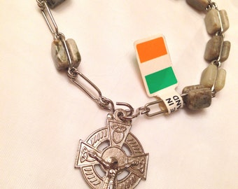 Popular Items For Celtic Cross Rosary On Etsy