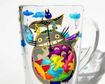 My Neighbor Totoro Coffee Mug, Hayao Miyazaki Japan Comic Book Lover Gift