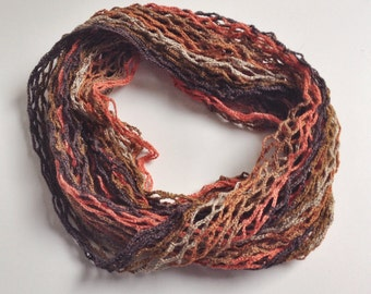 Flaming summer cowl scarf neck warmer