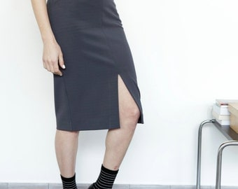 Knee length skirt | Etsy