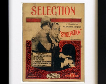 Vintage Sheet Music 'Syncopation' Songbook 1929