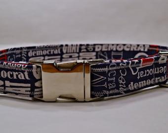 Democrat Dog Collar