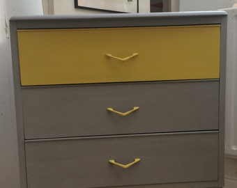 SOLD - Dressing Table - Vintage - Retro - Side Table - Chest Of Drawers - Annie Sloan