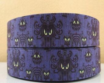 5 YDS Haunted Mansion Wallpaper Ribbon