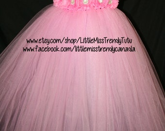 Pink Flower Girl Tutu Dress, Pink Birthday Tutu Dress, Pink Tutu Dress, Pink Dress, Flower Girl Dress, Pink Tutu, Pink Toddler Tutu Dress