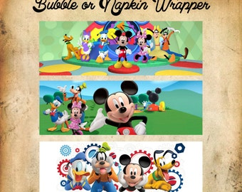Mickey Mouse Bubble Wrapper