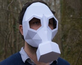 Gas Mask - build your own from recycled card