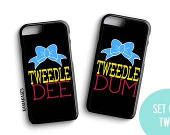 Bff Case / Tweedle DEE Tweedle DUM iPhone 4 Case Best Friends iPhone 5 Case iPhone 4S Case iPhone 5S Case One 4 Your BFF Phone Case Funny
