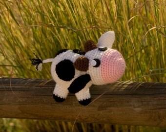 Cow amigurumi - amigurumi Cow - Cow crochet - crochet cow - Doll cow - Plush cow - Cow doll - Cow plush