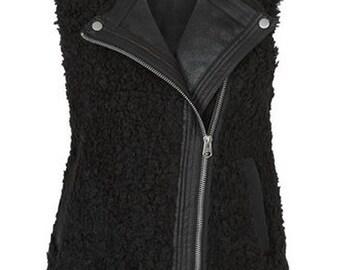 Black Borg Gilet Jacket M